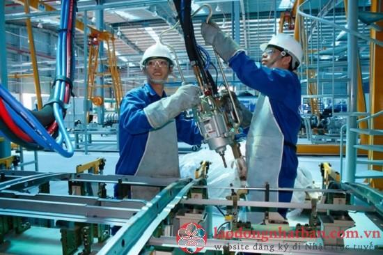 Đơn hàng tuyển nam làm cơ khí xuất khẩu lao động lương cao tại Nhật Bản