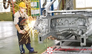 Đơn hàng hàn tuyển 15 nam xuất khẩu lao động Nhật Bản tháng 10/2017