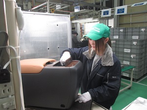 Đơn hàng đúc nhựa dành cho nữ lương cao tại Nhật Bản tháng 1/2018