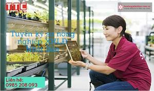 Tuyển gấp 10 kỹ sư nông nghiệp đi làm việc tại Nhật Bản tháng 10/2017