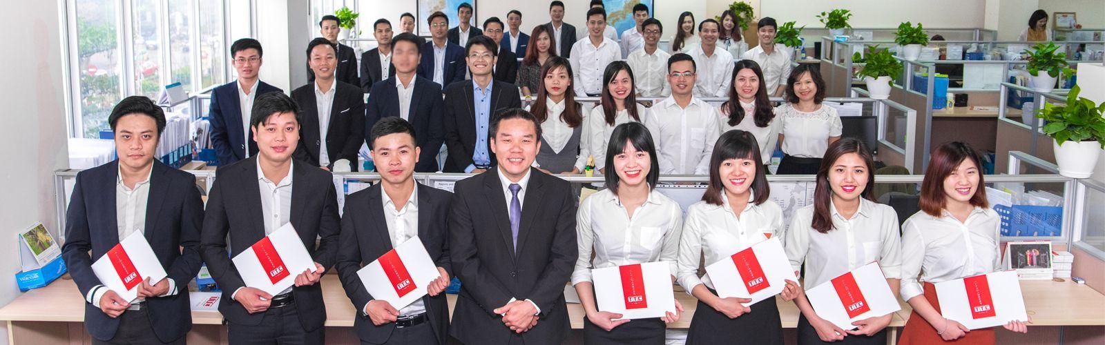 Đội ngũ cán bộ tư vấn xuất khẩu lao động Nhật Bản công ty TTC  Việt Nam