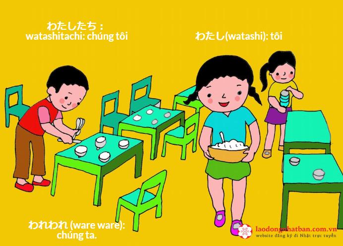 Mách bạn cách xưng hô trong giao tiếp bằng tiếng Nhật 6