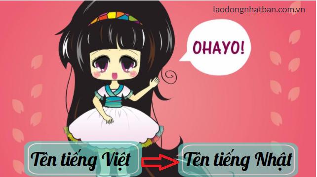 Cách chuyển tên tiếng Việt sang tiếng Nhật hay nhất, chính xác nhất