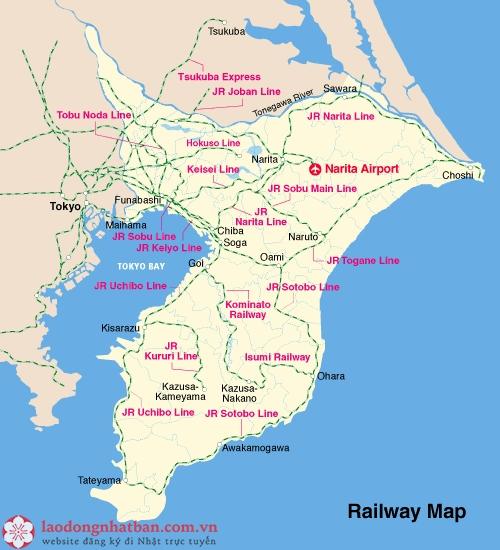 mạng lưới tàu điện ngầm của Chiba
