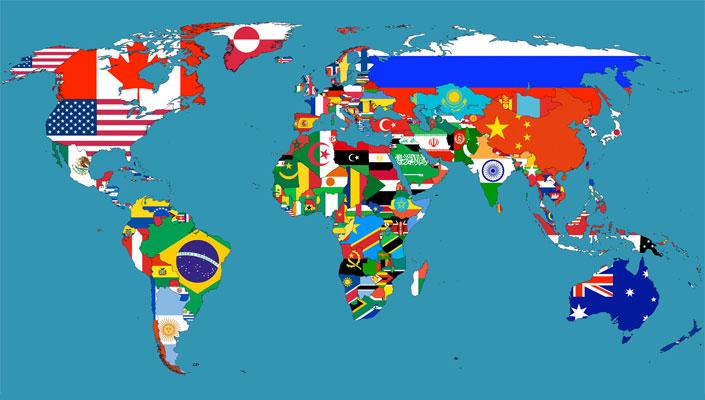 Học từ vựng tiếng Nhật qua tên của các quốc gia trên thế giới