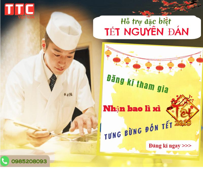 10 Hỗ trợ đặc biệt dịp TẾT NGUYÊN ĐÁN khi đăng kí đi XKLĐ Nhật Bản tại TTC Việt Nam