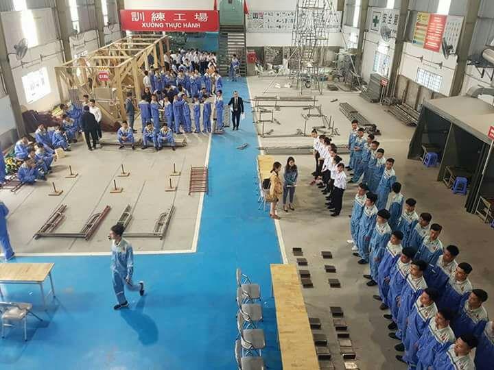 Cận cảnh thi tuyển đơn hàng Sơn xây dựng tại TTC Việt Nam