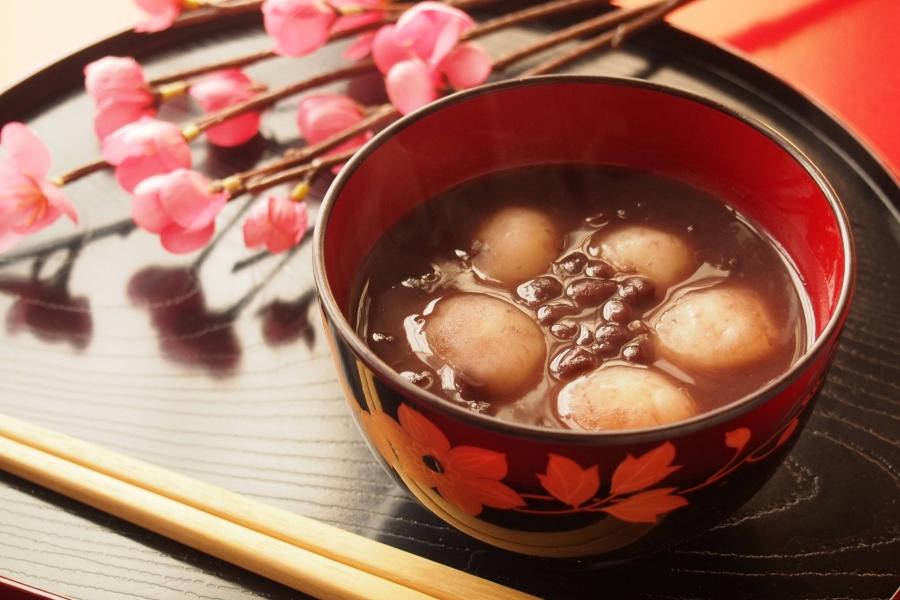Bánh Mochi Oshiruko