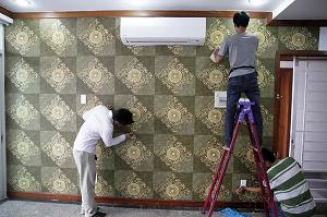 Tuyển gấp 25 nam dán giấy tường nhà không yêu cầu tiếng tại Tokyo, Nhật Bản