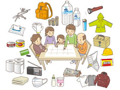 Những vật dụng cần chuẩn bị để ứng phó với động đất tại Nhật Bản