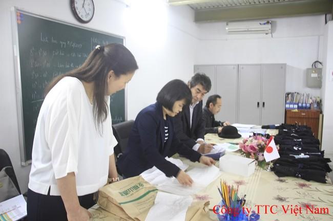 Phần thi xếp bài đi xuất khẩu lao động Nhật Bản
