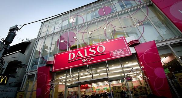 Daiso được xem là chuỗi cửahàng 100 Yên lớn nhất ở Nhật Bản