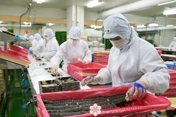 chế biến thực phẩm tại Nhật Bản