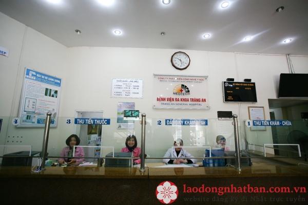 5 lý do nên khám ở bệnh viện đa khoa Tràng An khi đi xuất khẩu lao động Nhật Bản