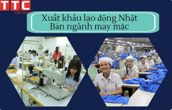 Thi tuyển tay nghề may đi xuất khẩu lao động Nhật Bản đơn hàng may mặc