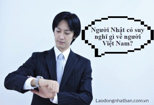 Người Nhật đánh giá về người Việt Nam như thế nào?