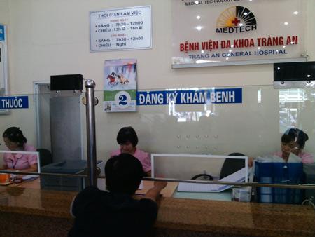 Bệnh viện Tràng An có địa chỉ ở đâu? Xe bus nào đi qua bệnh viện Tràng An?