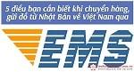 5 điều bạn cần biết khi chuyển hàng, gửi đồ từ Nhật Bản về Việt Nam qua EMS
