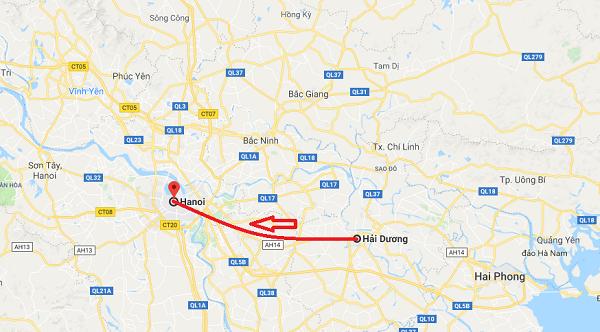 Từ Hải Dương đến Hà Nội bao nhiêu km? Hướng dẫn đường đi nhanh nhất
