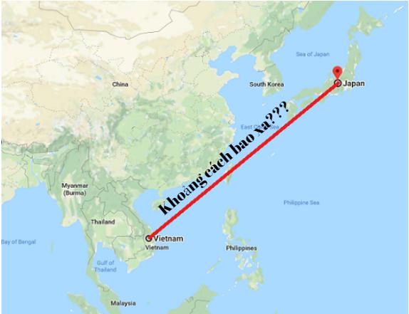 Từ Nhật Bản đến Việt Nam là bao xa? Làm cách nào để đi từ Việt Nam sang Nhật Bản