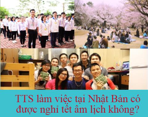Lao động Việt Nam làm việc tại Nhật Bản có được nghỉ TẾT âm lịch không?