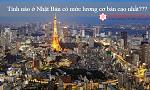 Tỉnh nào ở Nhật Bản có mức lương cơ bản cao nhất? Nên đi XKLĐ ở tỉnh nào?