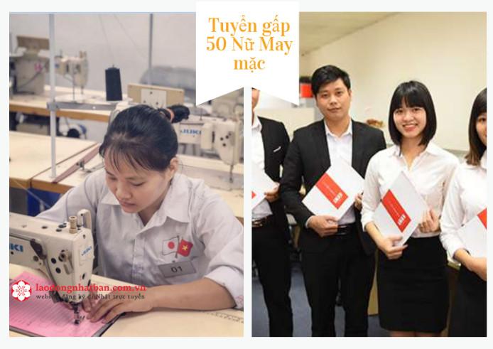GẤP: Đơn hàng truyền thống tuyển 35 Nữ ngành May mặc làm việc tại Fukuoka, Nhật Bản