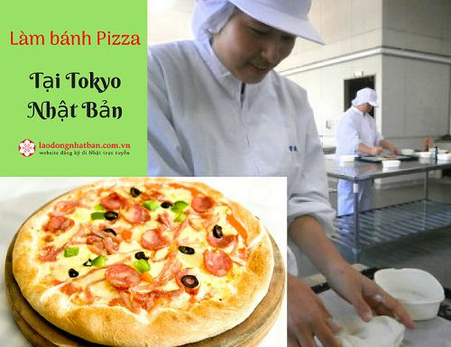 Đơn HOT: Tuyển 18 Nữ làm bánh Pizza tại Tokyo Nhật Bản, làm tại siêu thị