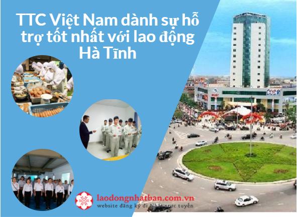 Ưu tiên 300 Lao động tỉnh Hà Tĩnh đăng kí tham gia XKLĐ Nhật Bản năm 2018