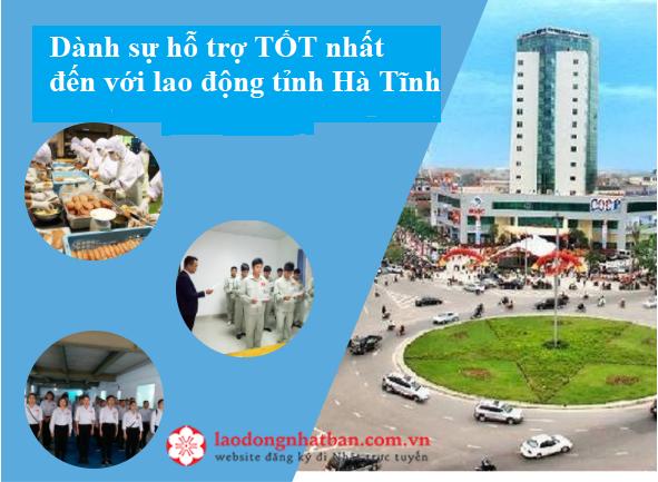 Ưu tiên 300 Lao động tỉnh Hà Tĩnh đăng kí tham gia XKLĐ Nhật Bản năm 2020