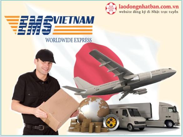 Mách bạn cách chuyển dồ từ Nhật về Việt Nam qua EMS