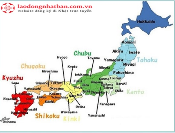 Đi XKLĐ Nhật Bản, bạn nhất định cần lưu ý những tỉnh này!