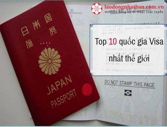 Top 10 quốc gia khó xin Visa nhập cảnh nhất thế giới, bất ngờ với vịt trí của Visa Nhật Bản