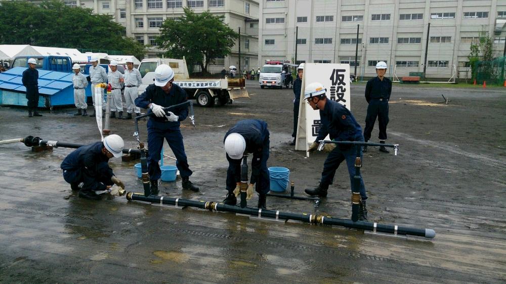 Đi XKLĐ Nhật Bản đơn hàng lắp đặt đường ống