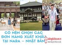 Có nên chọn đơn hàng xuất khẩu tại Nara – Nhật Bản