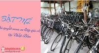 BẬT MÍ bí quyết mua xe đạp giá rẻ tại Nhật Bản
