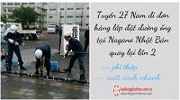 Tuyển 27 Nam đi đơn hàng lắp đặt đường ống tại Nagano Nhật Bản quay lại lần 2