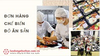 Đơn hàng chế biến đồ ăn sẵn tại Gifu BAY NHANH - PHÍ THẤP
