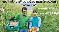 Đơn hàng kỹ sư nông nghiệp ngành trồng trọt KHÔNG CẦN KINH NGHIỆM