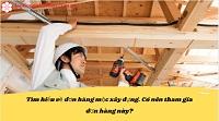Tìm hiểu về đơn hàng mộc xây dựng. Có nên tham gia đơn hàng này?