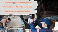Tìm hiểu về đơn hàng sửa chữa ô tô tại Nhật Bản. Ai nên tham gia đơn hàng này?