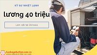 Tuyển 21 Kỹ Sư Nhiệt Lạnh Tại Okinawa Nhật Bản Không Yêu Cầu Tiếng