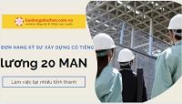 Top 10 đơn hàng kỹ sư xây dựng biết tiếng Nhật tại nhiều tỉnh thành Nhật Bản