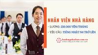Đơn hàng nhân viên nhà hàng theo diện visa đặc định lương cao