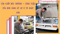 Tìm hiểu môi trường - công việc của đơn hàng kỹ sư ô tô Nhật Bản