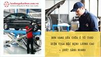 Đơn hàng sửa chữa ô tô theo diện visa đặc định lương cao - xuất cảnh nhanh