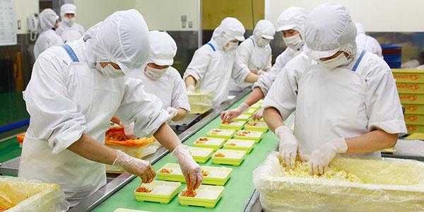 Thực tập sinh ngành chế biến thực phẩm tại Nhật Bản làm những công ...