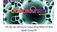 Tất tần tật những từ vựng tiếng Nhật về dịch bệnh Corona (Covid-19)
