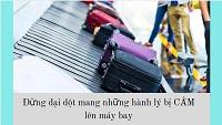 10 Lưu ý về việc mang hành lý lên máy bay sang Nhật Bản năm 2021