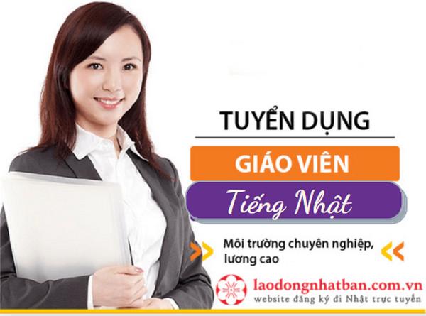 Tuyển dụng Giáo viên dạy tiếng Nhật cho thự tập sinh tại Hà Nội